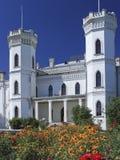Ukrainisches Herrenhaus des 19. Jahrhunderts im Dorf Sharovka Lizenzfreies Stockfoto