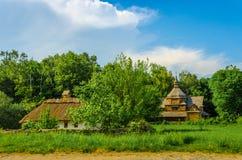 Ukrainisches ländliches Häuschen Lizenzfreie Stockfotos