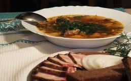 Ukrainisches Lebensmittel Lizenzfreie Stockfotografie