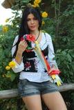 Ukrainisches Mädchen lizenzfreies stockfoto