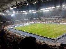 Ukrainisches Stadion olympisch in Kiew stockbilder