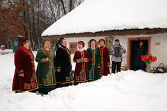 Ukrainisches Weihnachten Stockfotografie