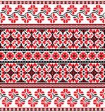 Ukrainsk blom- prydnad Arkivfoto