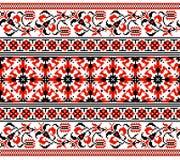 Ukrainsk blom- prydnad Fotografering för Bildbyråer