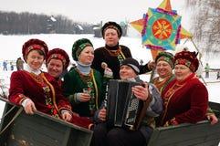 ukrainsk jul Royaltyfri Fotografi