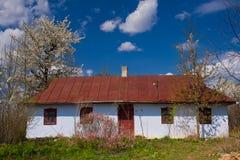 Ukrainsk khata Fotografering för Bildbyråer
