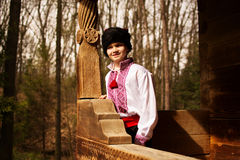 Ukrainsk kosack Fotografering för Bildbyråer