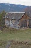 Ukrainsk livsstil i Carpathian berg. Royaltyfria Foton