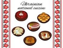 Ukrainsk nationell kokkonst Arkivbilder