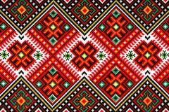 Ukrainsk nationell prydnad Arkivfoto