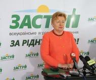 Ukrainsk politik Arkivbilder