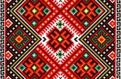 Ukrainsk prydnadbroderi Arkivfoto