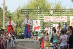 Ukrainska kosackar arkivbilder