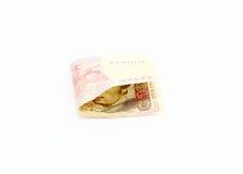 Ukrainska pengar Arkivfoton