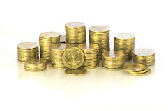 Ukrainska pengar Royaltyfri Fotografi