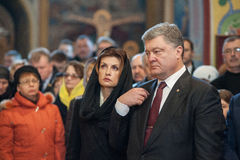 Ukrainska politiker hedrar minne av dödade EuroMaidan aktivister Arkivbilder
