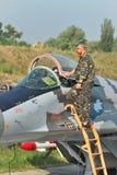 Ukrainskt flygvapen MiG-29 arkivbilder