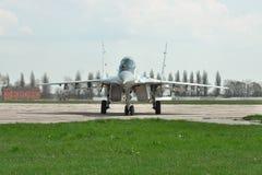 Ukrainskt flygvapen MiG-29 royaltyfria foton