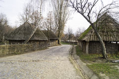 Ukraińska wioska xvii wiek Obraz Stock
