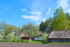 Ukranian country landscape. Royalty Free Stock Images
