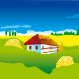 Ukranian landscape Stock Image