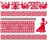 Ukranian pattern Stock Image