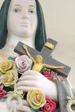 Ukrzyżowany jezus chrystus Zdjęcia Stock