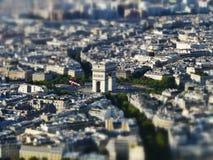 łuku de Paris triomphe Zdjęcia Stock