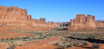 Łuku park narodowy Obraz Stock