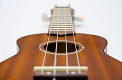 ukulele типа Гавайских островов гитары Стоковое фото RF