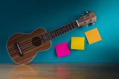 ukulele stockbild