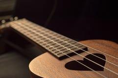 ukulele Royalty-vrije Stock Foto's