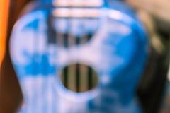 Ukulele blur Royalty Free Stock Photography