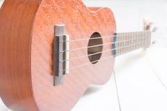 Ukulele, chitarra hawaiana Immagine Stock Libera da Diritti