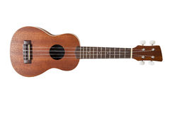 Ukulele with clipping path Stock Photos