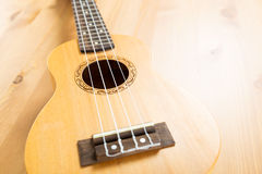 Ukulele close up Stock Photo