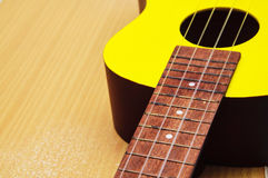 Ukulele Close Up Royalty Free Stock Images