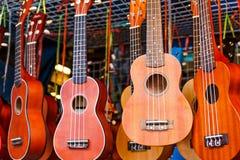 Ukulele gitara fotografia stock