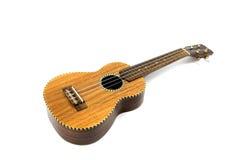 Ukulele guitar. Ukulele isolated on white background. Music instrument royalty free stock photography