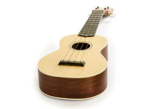 Ukulele guitar isolated on white Clipping path included : does not include shadow. Royalty Free Stock Photo