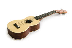 Ukulele guitar isolated on white Clipping path included : does not include shadow. Royalty Free Stock Image