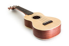 Ukulele guitar isolated on white Clipping path included Stock Photo