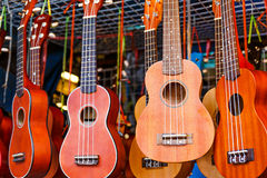 Ukulele guitar Stock Photography