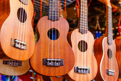 Ukulele guitar for sell Royalty Free Stock Images