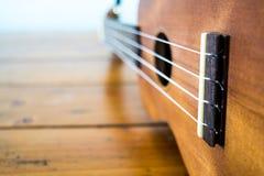 Ukulele guitar isolate stock photo