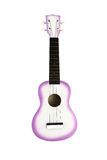 Ukulele guitar on white Royalty Free Stock Images