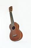 Ukulele hawaiian guitar. Isolated on white background Royalty Free Stock Photo