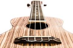 Ukulele, hawaiian guitar. soft focus on bridge. Stock Images