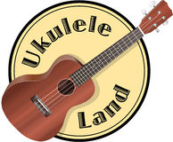 Ukulele Logo Stock Photos