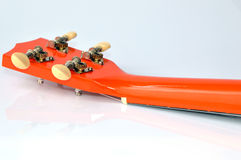 Ukulele neck Royalty Free Stock Photo